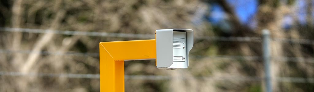 access control vehicle entry point